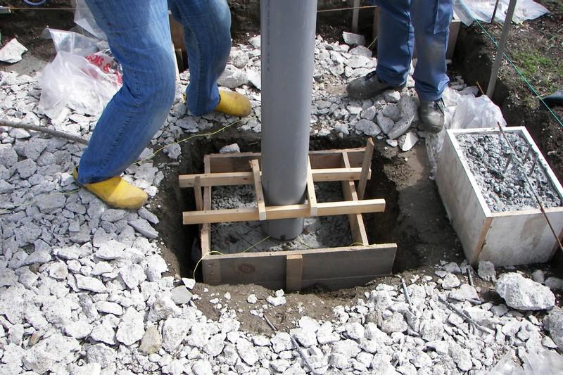 Construire un pilier